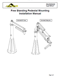 AIMCO Free Standing Pedestal Installation Manual