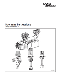 Demag Operating Instructions
